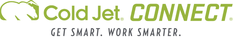 Cold Jet CONNECT®  - 保守サポート、トレーニング、データ分析をスマートに